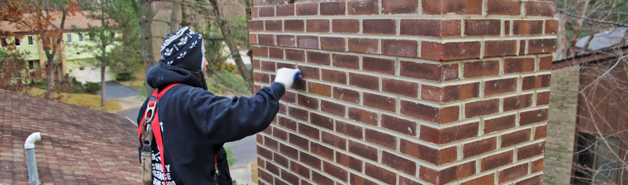 chimney repair for leaky chimney in Alexandria va