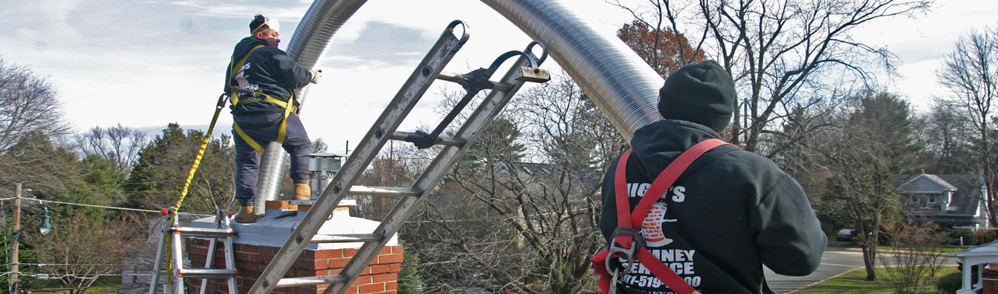 chimney liner installation in mclean va