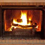 Openmasonry fireplace in Fulton, MD