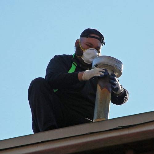 Chimney Cap replacement in Mclean MD