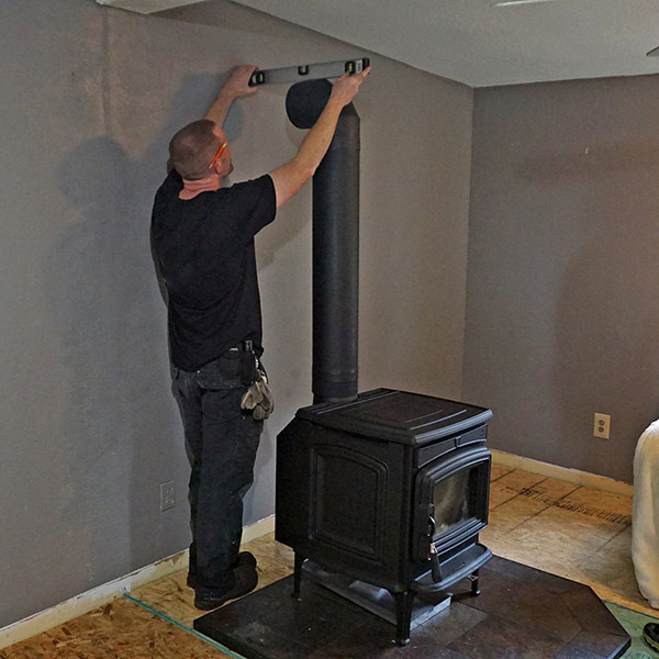 Wood Stove installation in Silver Springs MD