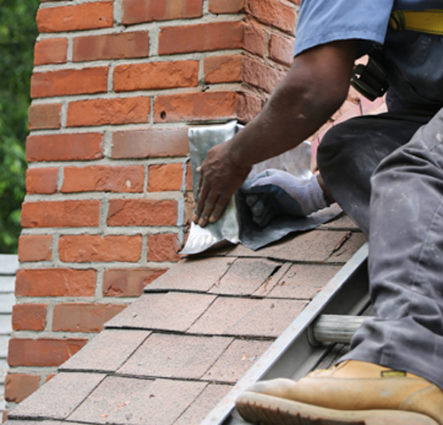 chimney flashing repair in Travilah MD