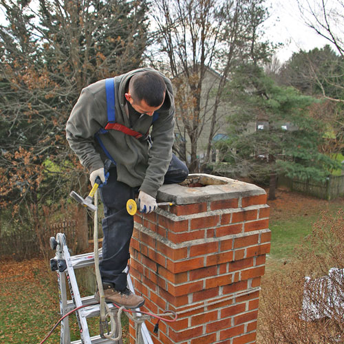chimney crown repair in Glenwood MD