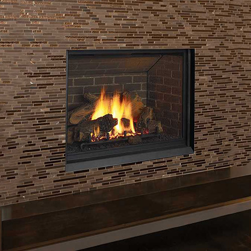 Gas Log fireplace in Chevy Chase MD