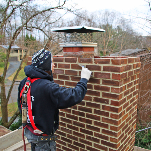 chimney tuckpointing in Silver Springs MD