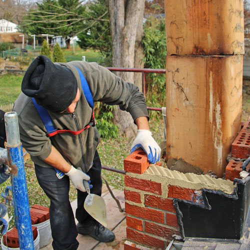 chimney masonry repair in Mclean VA