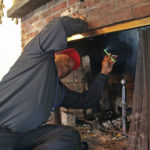 fireplace draft issues in Chevy Chase MD
