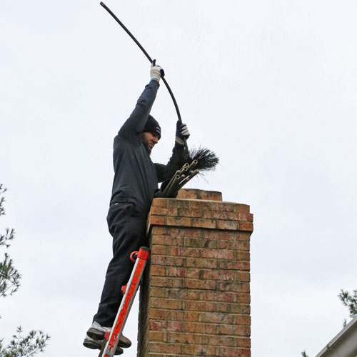 Chimney sweep in Poolesville MD