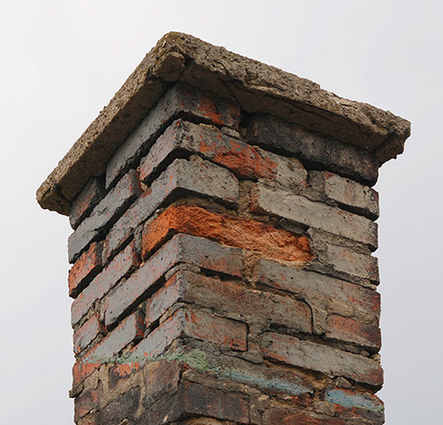 chimney masonry damage in Olney MD