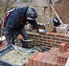 chimney rebuilding in Middletown MD