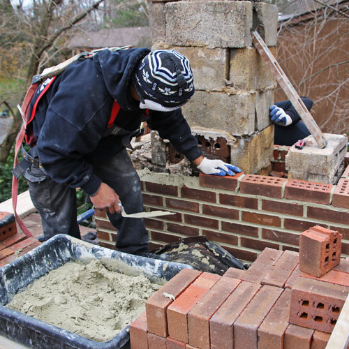 Chimney masonry in Tysons VA