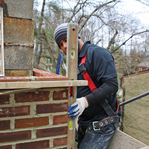 Chimney masonry in Cleverly MD
