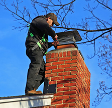Ballenger Creek MD chimney cap repair