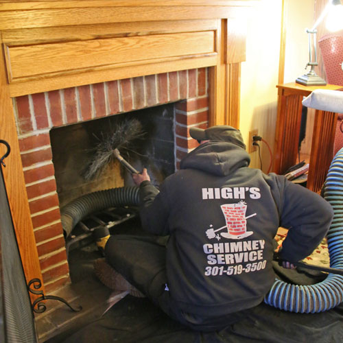 certified chimney cleaning dirty chimney in washington d.c