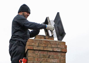 Chimney cap repair in Fulton MD