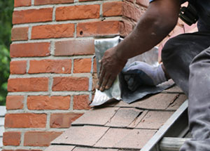 Chimney flashing repair in Clarksville MD