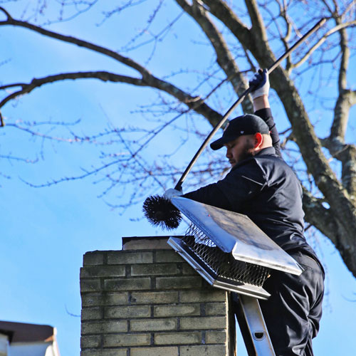 Chimney sweep in Middletown MD