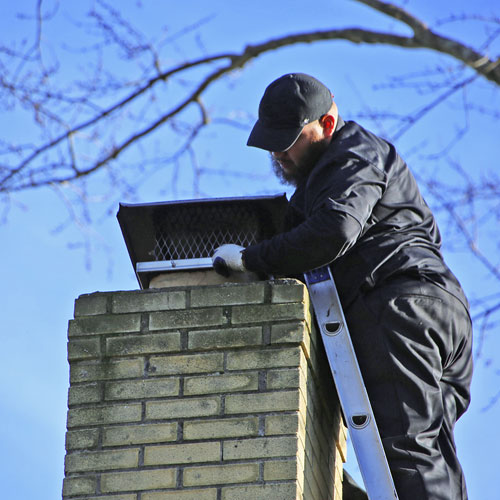 leaky chimney repair with chimney cap in fulton md