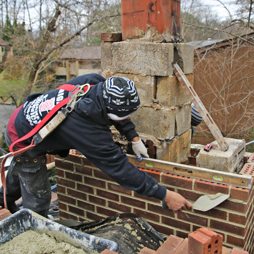 Chimney Rebuilding in Glenwood MD