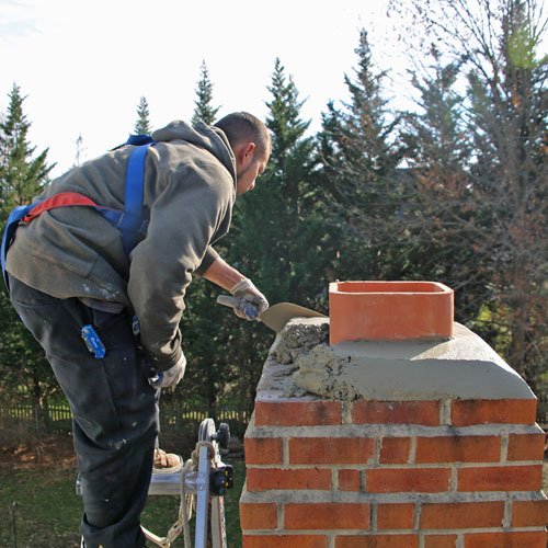 leaky chimney repair and chimney rebuilding in glenwood md