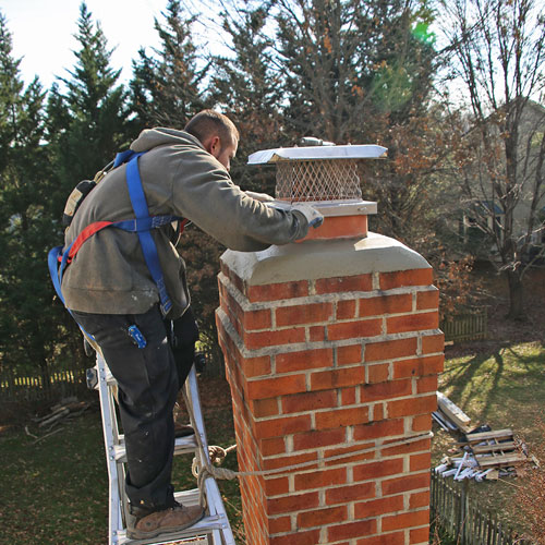 Chimney cap replacement in Gaithersburg MD