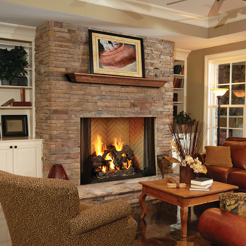 wood fireplace install in Rockville MD