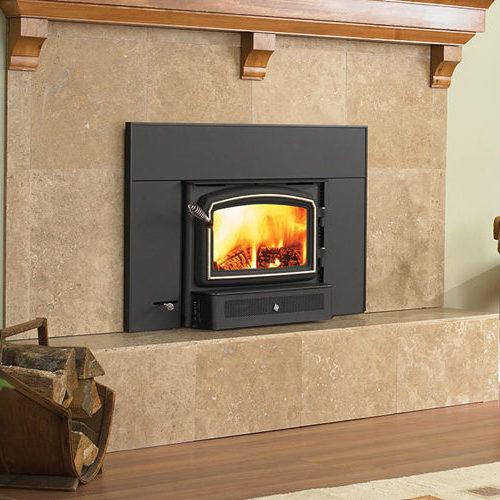 Super Wood Burning Fireplace Insert In The Fairfax Va Area Home Remodeling Inspirations Cosmcuboardxyz