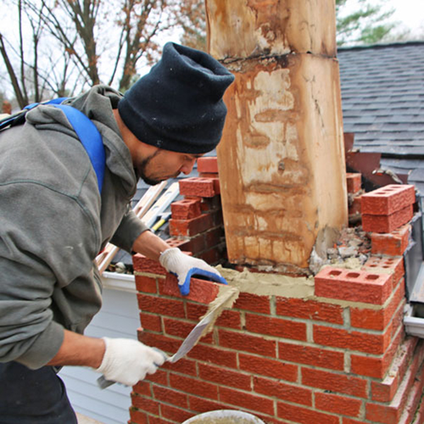 Chimney Masonry Repair in Fulton MD