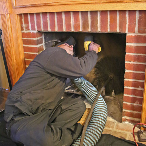 Masonry Fireplace inspection & Cleaning