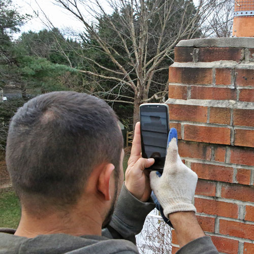 Chimney inspection in Poolesville, MD