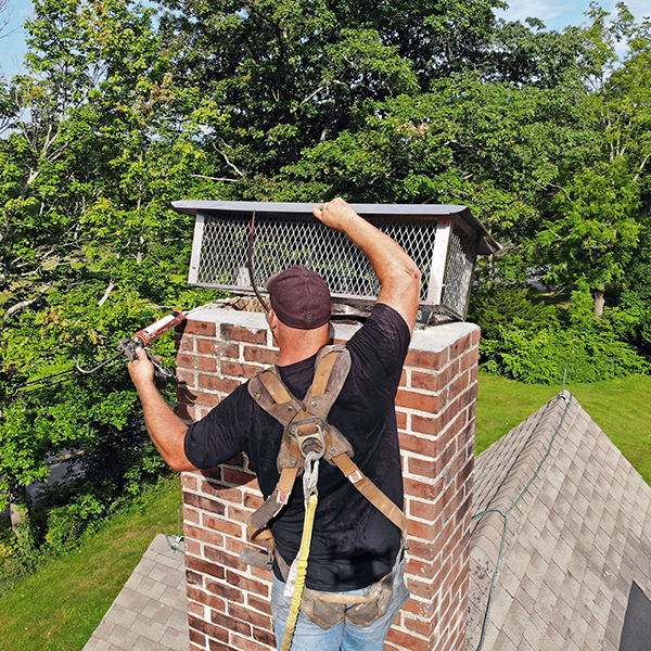Chimney Cap Repair & Install in Poolesville, MD