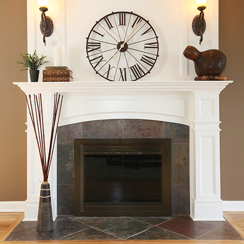 Fireplace makeover in Gaithersburg MD