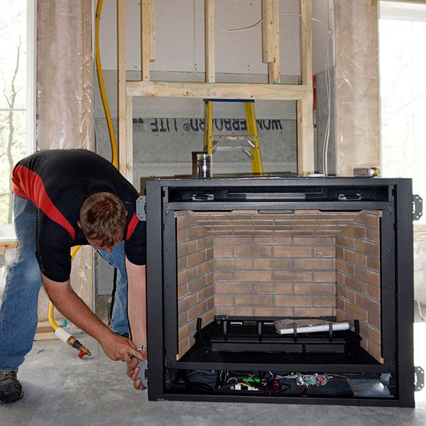 Fireplace Installations Near Dc, Replacing Gas Fireplace